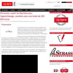 Domoscio, expert du Big Data pour l'apprentissage, accélère avec une levée de 250 000 euros