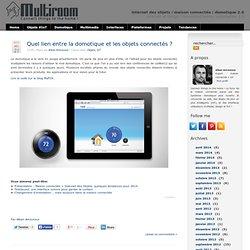 Domotique et les objets connectés sur le blog MyFOX