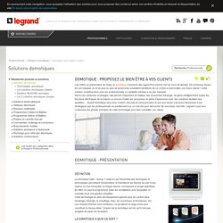 Domotique - Description et usage