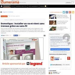 Domotique : installer un va-et-vient sans travaux grâce au sans-fil
