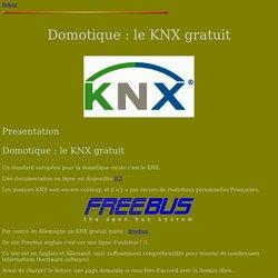 Domotique : le KNX gratuit