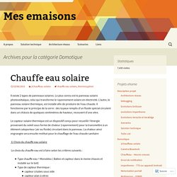 Mes emaisons