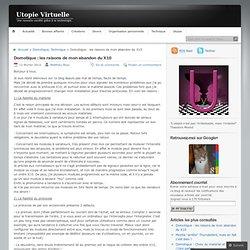 Domotique : les raisons de mon abandon du X10 « Utopie Virtuelle