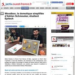 Woodbox, la domotique simplifiée d'Adrien Schmouker, étudiant Epitech - 03/11/16