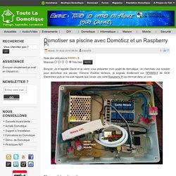 Domotiser sa piscine avec Domoticz et un Raspberry Pi