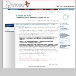 Dompéridone (Motilium° ou autre) et troubles cardiaques: à écarter sansattendre'', 1er septembre 2013