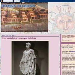 Gens togata, la toga romana y su simbología