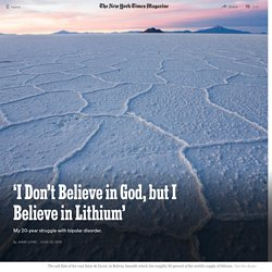 'I Don't Believe in God, but I Believe in Lithium'