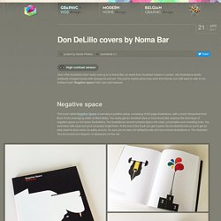 Don DeLillo covers by Noma Bar