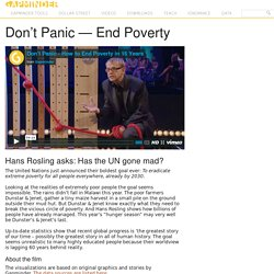 Don't Panic — End Poverty