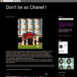 Don't be so Chanel !