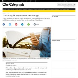 Don't worry, be appy with the AA's new app