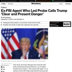 Donald Trump Is 'Clear and Present Danger' to U.S.: Ex-FBI Agent Peter Strzok
