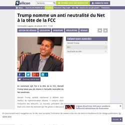 Donald Trump va revisiter la neutralité du Net aux Etats-Unis