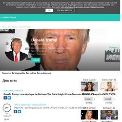 Donald Trump - La biographie de Donald Trump avec Voici.fr