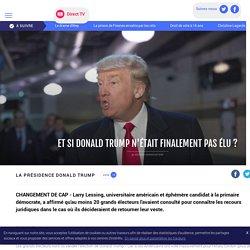 Et si Donald Trump n'était finalement pas élu ? - LCI