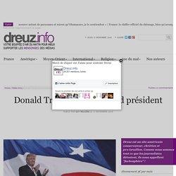 Donald Trump sera un grand président