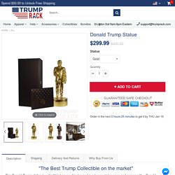 Donald Trump Statue – Trump Rack