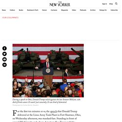 """Donald Trump's Unhinged Obsession with """"a Man Named John McCain"""""""