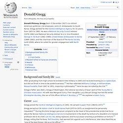 Donald Gregg