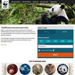 Donate to WWF