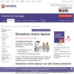 Donation entre époux : infos - Ooreka
