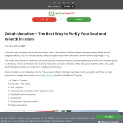 Zakah donation - The Best Way to Purify Your Soul and Wealth in Islam