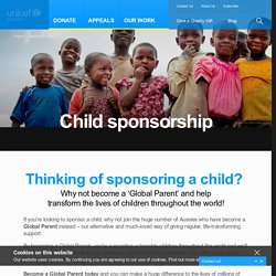 Charity Donations & Gifts for Children - UNICEF Australia