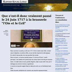 24/06/1717 réunion brasserie de l'Oie & le Gril