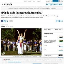 ¿Dónde están los negros de Argentina?