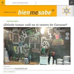 ¿Dónde tomar café en el centro de Caracas?
