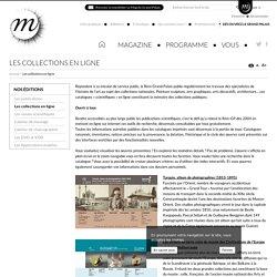 Les collections en ligne