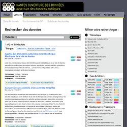 Ouverture des données (exemple de Nantes)
