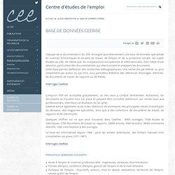 Base de données CeeRise