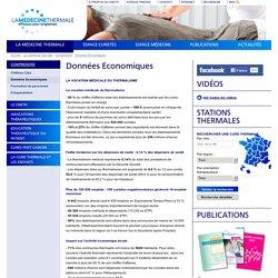 Données Economiques - Thermes et cures thermales en France