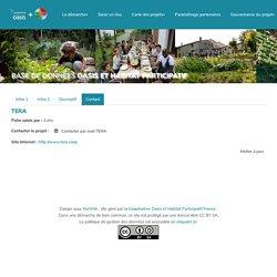 Base de données Habitat Participatif et Oasis : TerA