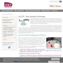 Le LI-FI : Des données lumineuses