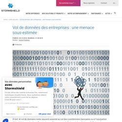 Le vol de données, menace majeure pour les entreprises