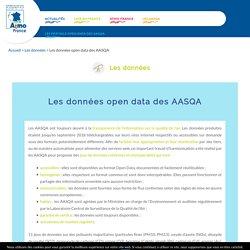 Qualité de l'air en France- AASQA
