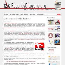 Lâcher de données pour l'OpenDataCamp ! « RegardsCitoyens.org