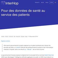Pour des données de santé au service des patients