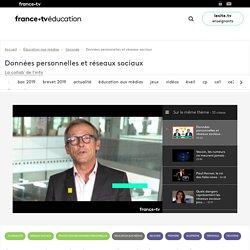 Données personnelles et réseaux sociaux - Vidéo - France tv Éducation