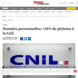 Données personnelles: +34% de plaintes à la Cnil