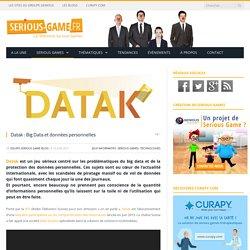 Datak : Big Data et données personnelles