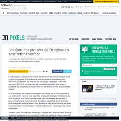 Les données piratées de Dropbox en 2012 refont surface