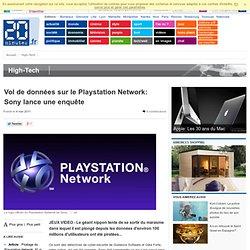 Vol de données sur le Playstation Network: Sony lance une enquête