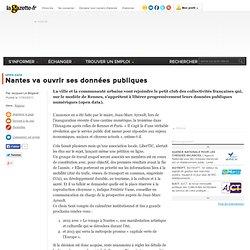 Nantes va ouvrir ses données publiques