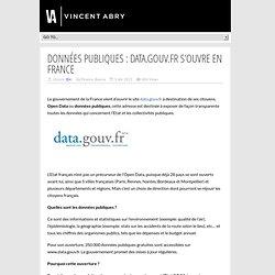 Données Publiques : Data.gouv.fr s'ouvre en France