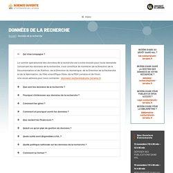 Guide des données de la recherche de l'Univ. de Lorraine