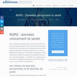 RGPD et données de santé : ce qu'il faut savoir.